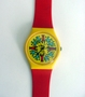 These are the original Keith Haring SWatch Watch from the 1980